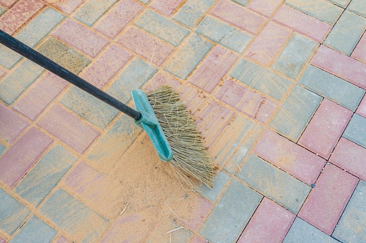 conserve-water-in-summer---sweep-sidewalk