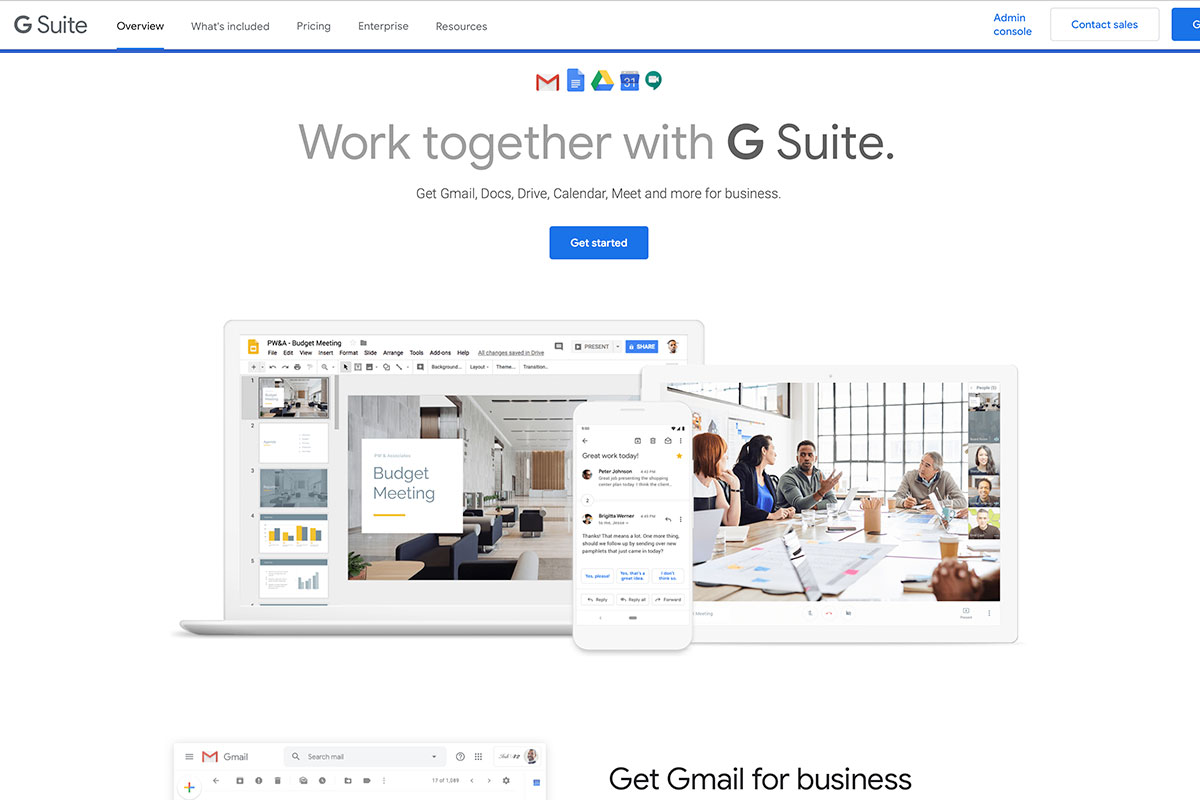G Suite Freemium products for property managers