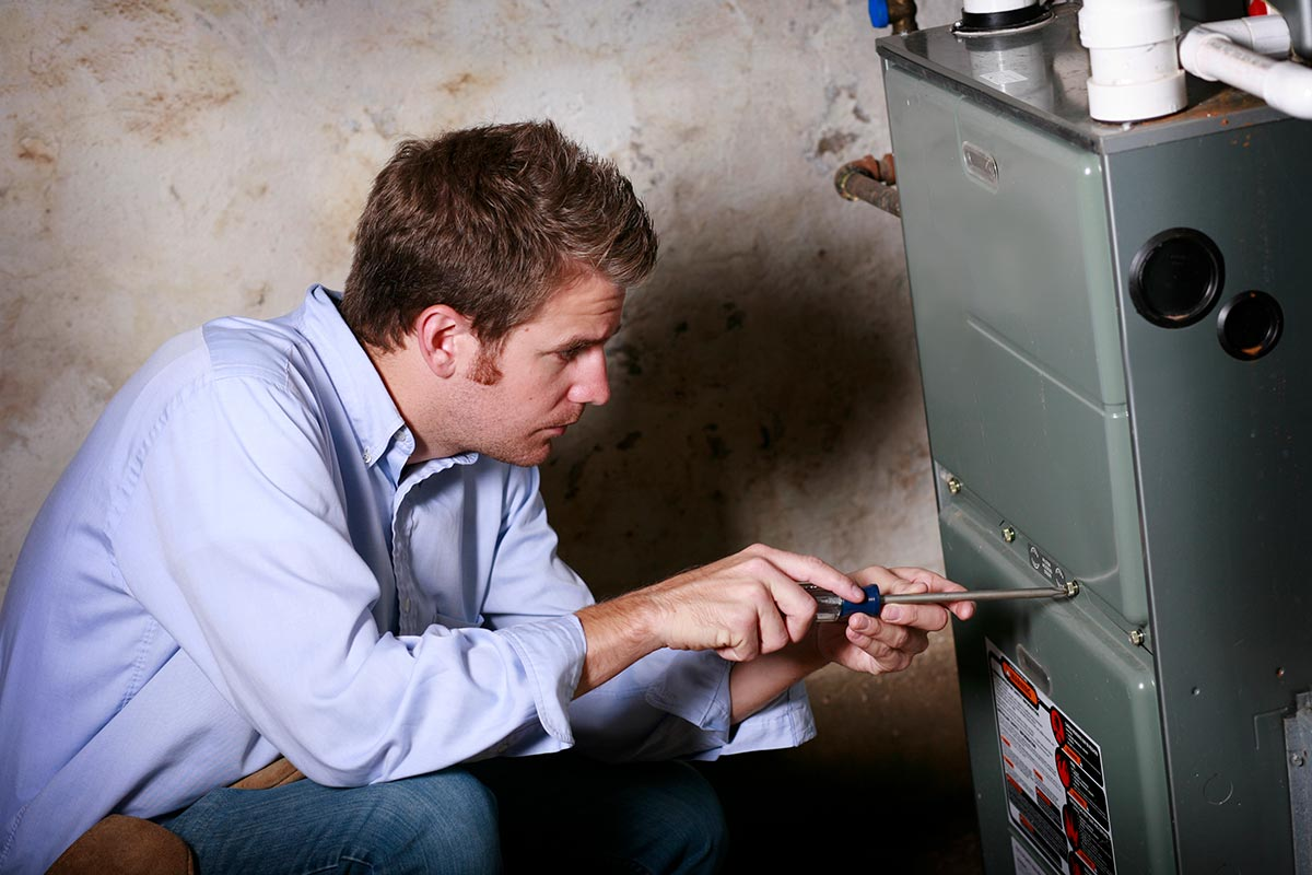 tune up furnace to protect property in winter