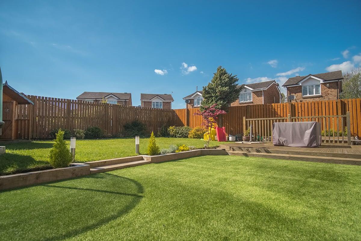 green backyard rental