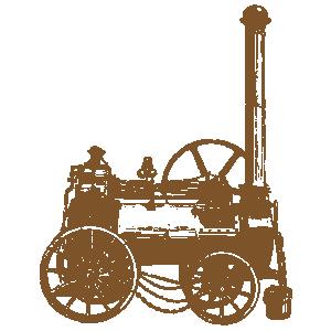 steam lawn mower